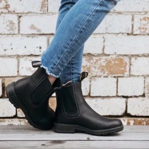 BLUNDSTONE🔴Black leather Boots